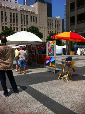 22nd Annual Chicago Tribune North Michigan Avenue Art Festival :)