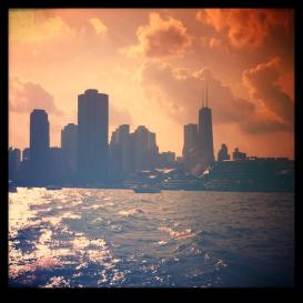 Pretty pretty chicago from Lake Michigan